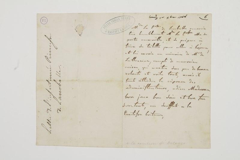 Lettres de la princesse de Lamballe 14141610