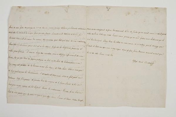 Lettre de la reine Marie-Caroline à la duchesse de Polignac, juillet 1791 14141610