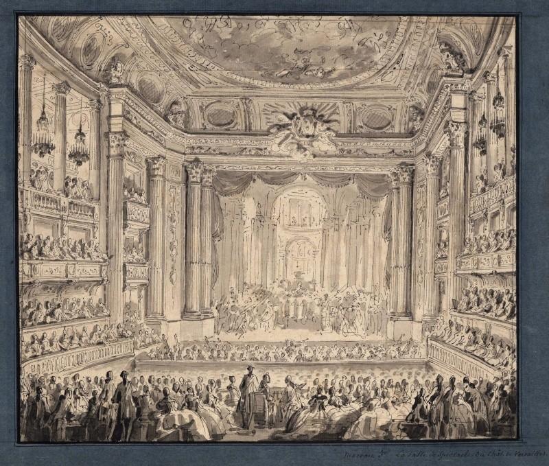 Jean-Michel Moreau le jeune, dessinateur des Menus Plaisirs du roi 177010