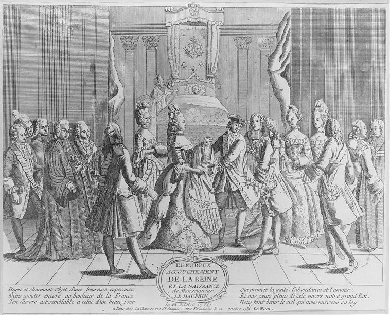Naissances illustrées des enfants de Marie-Antoinette  73-00410