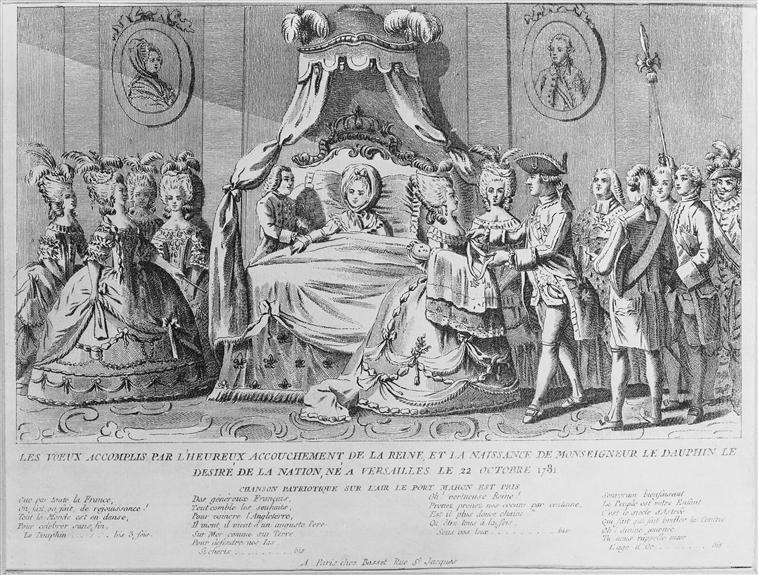 Naissances illustrées des enfants de Marie-Antoinette  73-00411