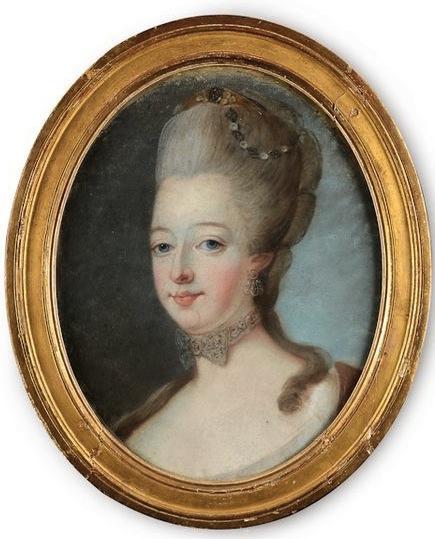 Portraits de Marie-Antoinette attribués aux Gautier Dagoty (ou d'après). - Page 2 74073110