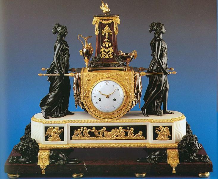 Pendules et horloges de Marie-Antoinette 7bd9e710