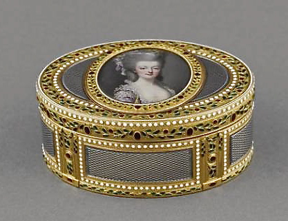 Portraits de Marie-Antoinette sur les boites et tabatières 93882_10