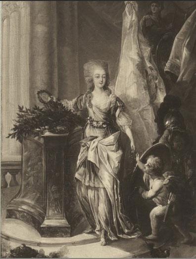 Portraits de Marie-Antoinette attribués aux Gautier Dagoty (ou d'après). - Page 2 Allego10