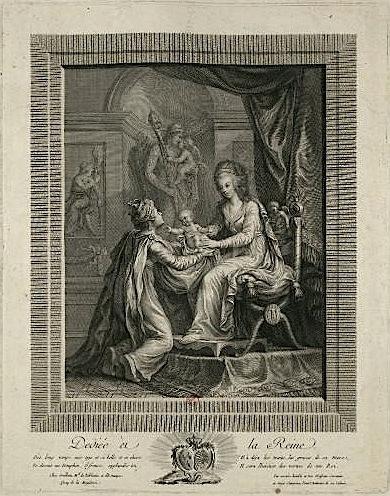 Naissances illustrées des enfants de Marie-Antoinette  Allygo11