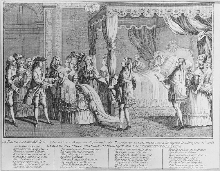 Naissances illustrées des enfants de Marie-Antoinette  Anonym13