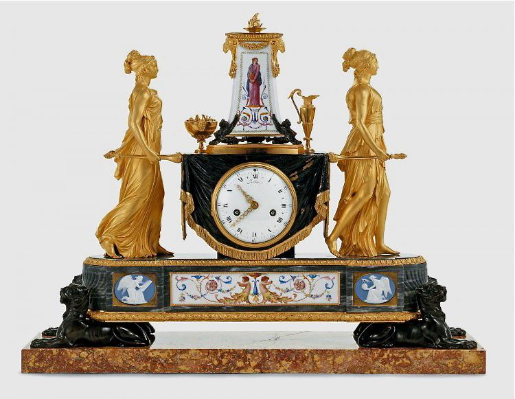 Pendules et horloges de Marie-Antoinette Arton610