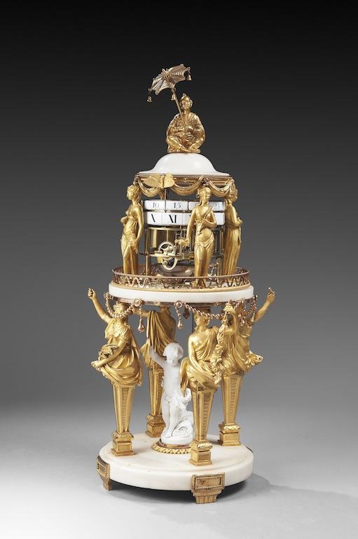 Pendules et horloges de Marie-Antoinette Chanel10