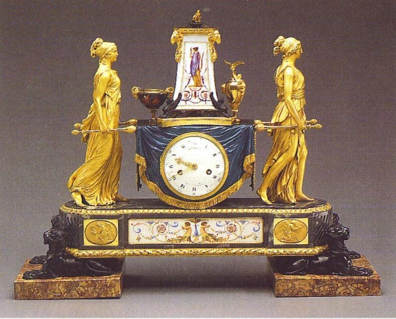 Pendules et horloges de Marie-Antoinette Clock_10