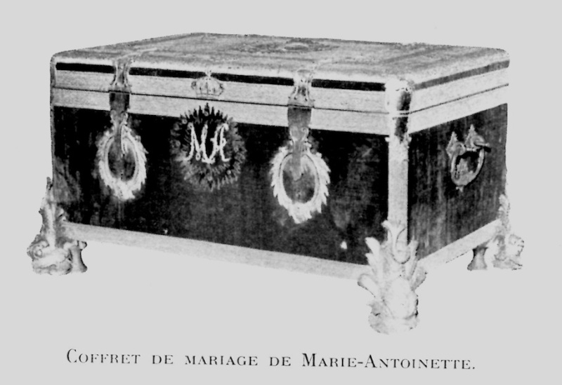 Malles et coffres de voyage de Marie-Antoinette Coffre10
