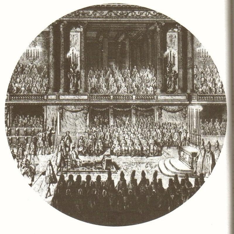 Le couronnement et le sacre de Louis XVI Corona10