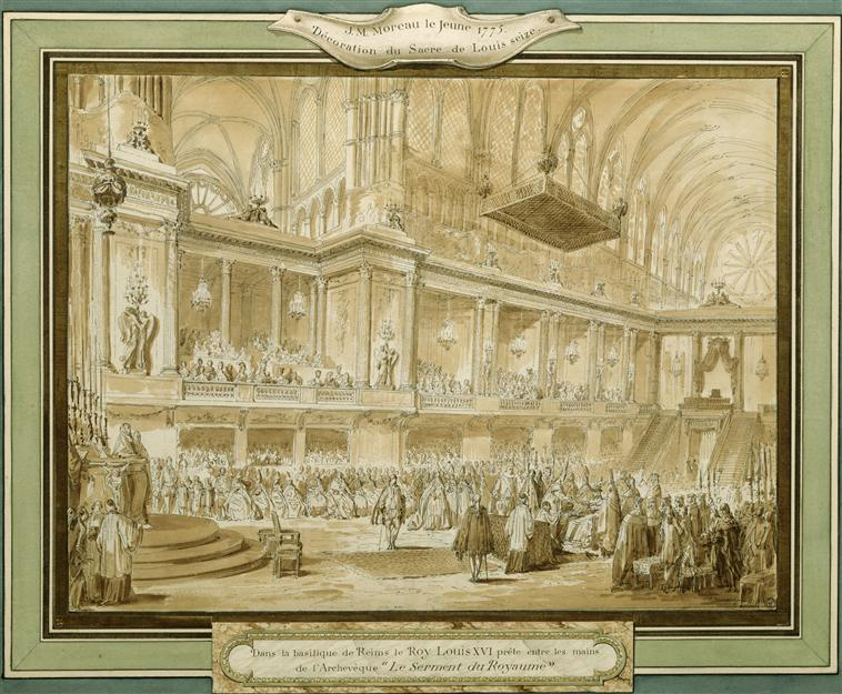 Le couronnement et le sacre de Louis XVI Couron11