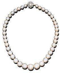 Bijoux de Marie-Antoinette : le collier de perles de Barbara Hutton D1603210