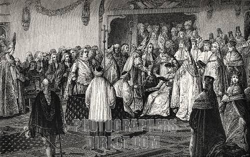Le couronnement et le sacre de Louis XVI D_apry10