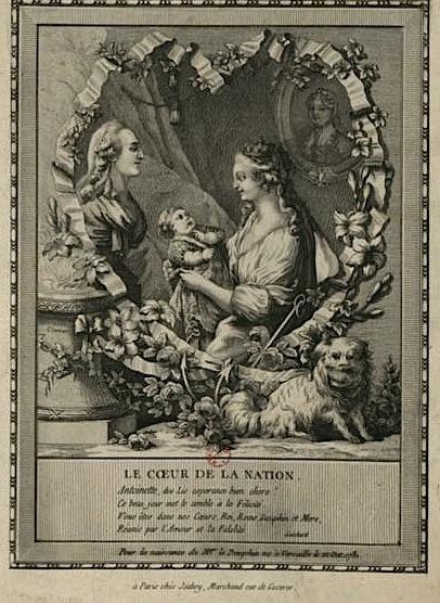Naissances illustrées des enfants de Marie-Antoinette  Dauphi10