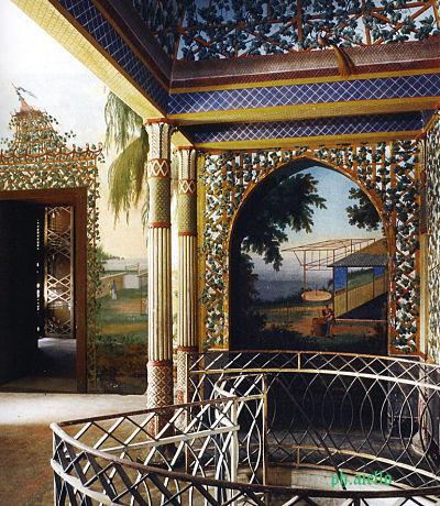 Le Palais chinois de Marie-Caroline à Palerme Decora10