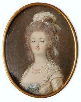 Marie Antoinette, miniatures attribuées à ou d'après François Dumont - Page 2 Dumont12