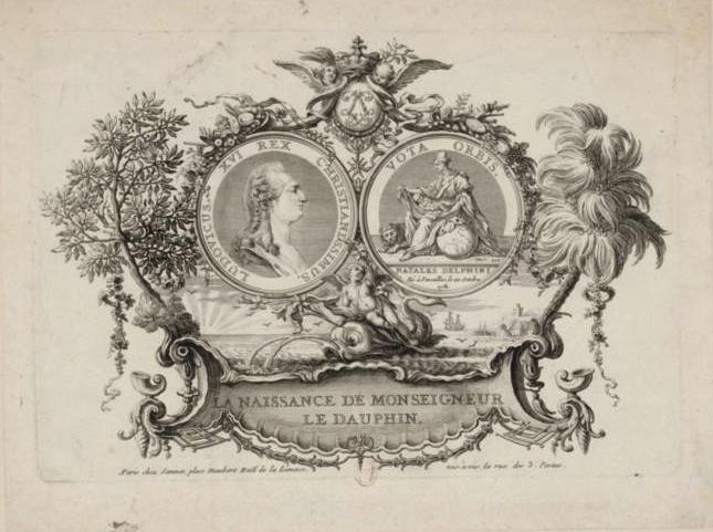 Naissances illustrées des enfants de Marie-Antoinette  F1_hig10
