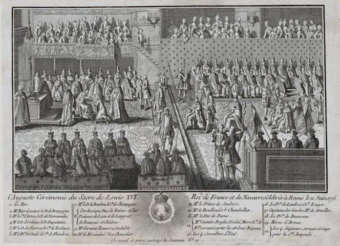 Le couronnement et le sacre de Louis XVI F1_hig11