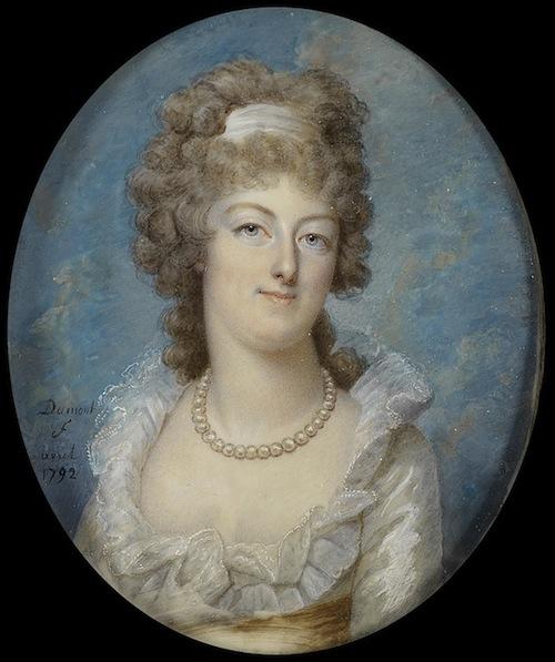 Portraits de Marie-Antoinette sur les boites et tabatières Franco13