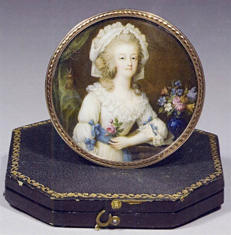 Portraits de Marie-Antoinette sur les boites et tabatières Franco14