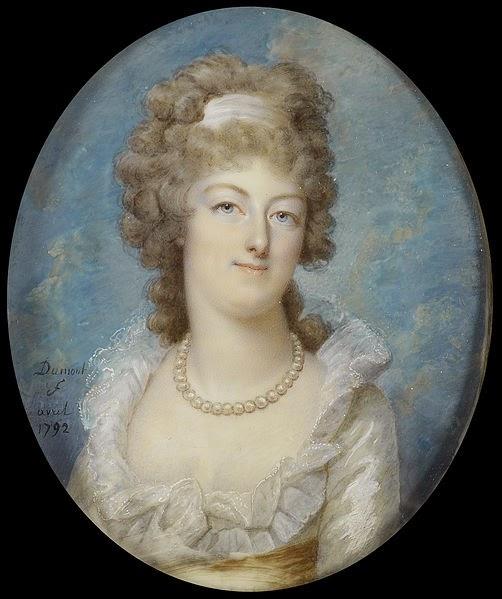 Marie Antoinette, miniatures attribuées à ou d'après François Dumont - Page 2 Franco16