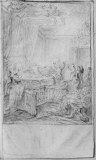 Naissances illustrées des enfants de Marie-Antoinette  Gabrie10