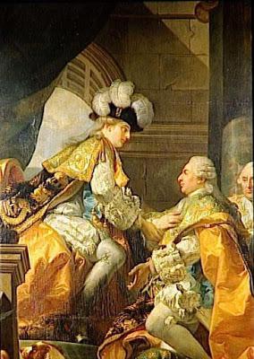 Le couronnement et le sacre de Louis XVI Gabrie11
