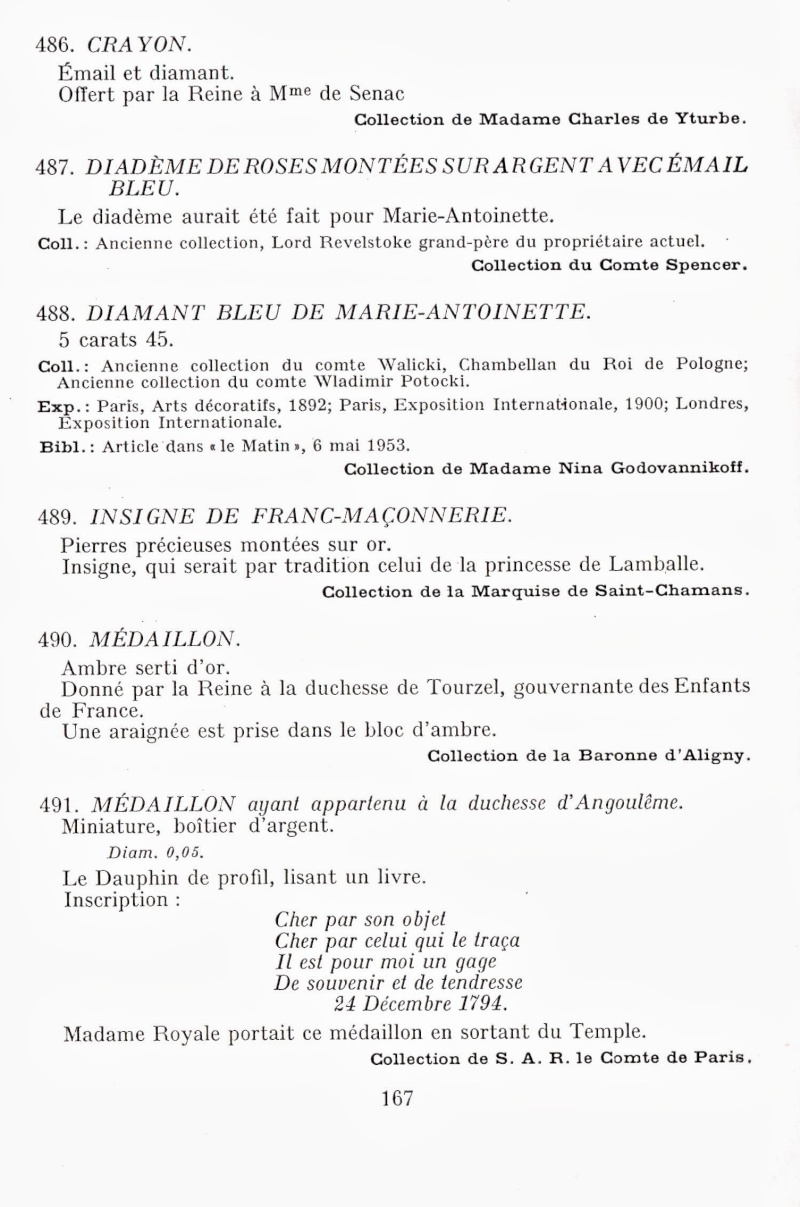 Exposition : Marie-Antoinette à Versailles (1955) - Les bijoux  Img00213