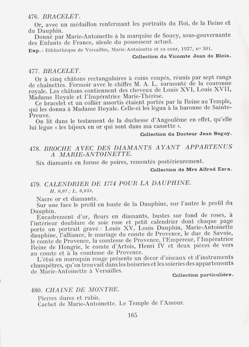 Exposition : Marie-Antoinette à Versailles (1955) - Les bijoux  Img00d12