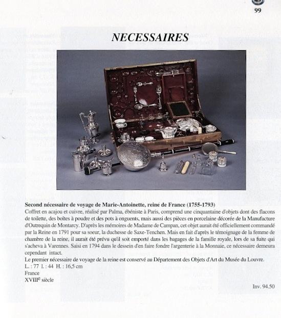 Nécessaires - Les nécessaires de voyage de Marie-Antoinette Img18910