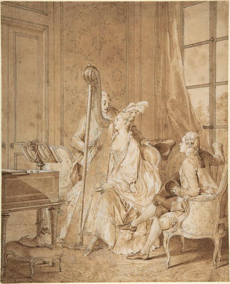 Jean-Michel Moreau le jeune, dessinateur des Menus Plaisirs du roi Jean-m15