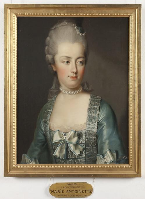 Portraits de Marie-Antoinette sur les boites et tabatières Joseph12