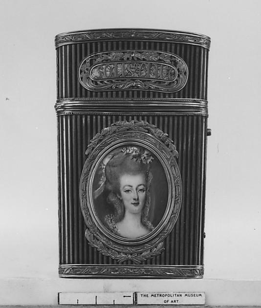 Portraits de Marie-Antoinette sur les boites et tabatières Louis_10