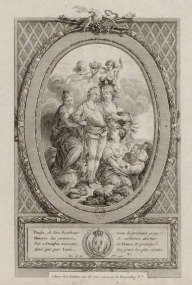 Naissances illustrées des enfants de Marie-Antoinette  Louis_11