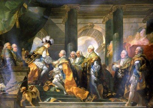 Le couronnement et le sacre de Louis XVI Louis_12