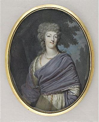Marie Antoinette, miniatures attribuées à ou d'après François Dumont - Page 2 M5035011