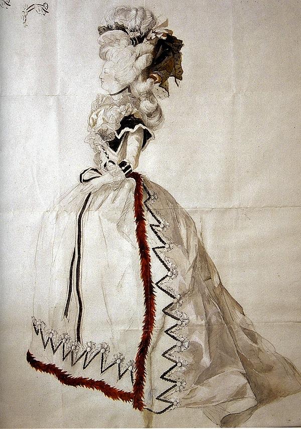 Robe de mariee de marie antoinette