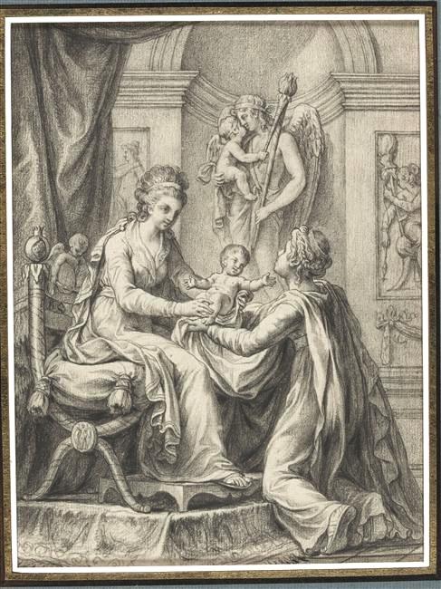 Naissances illustrées des enfants de Marie-Antoinette  Marie-20