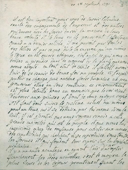 La correspondance de Marie-Antoinette avec le comte de Mercy-Argenteau - Page 2 Marie-21