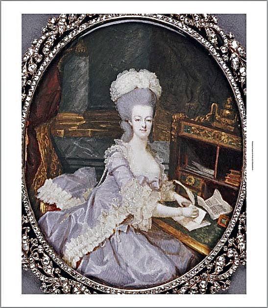 Marie Antoinette, miniatures attribuées à ou d'après François Dumont - Page 2 Marie_28