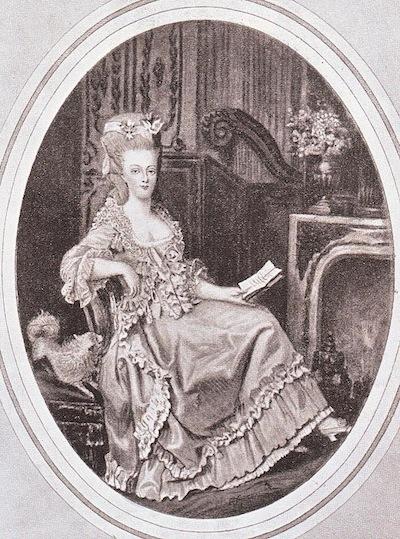 Marie Antoinette, miniatures attribuées à ou d'après François Dumont - Page 2 Marie_32