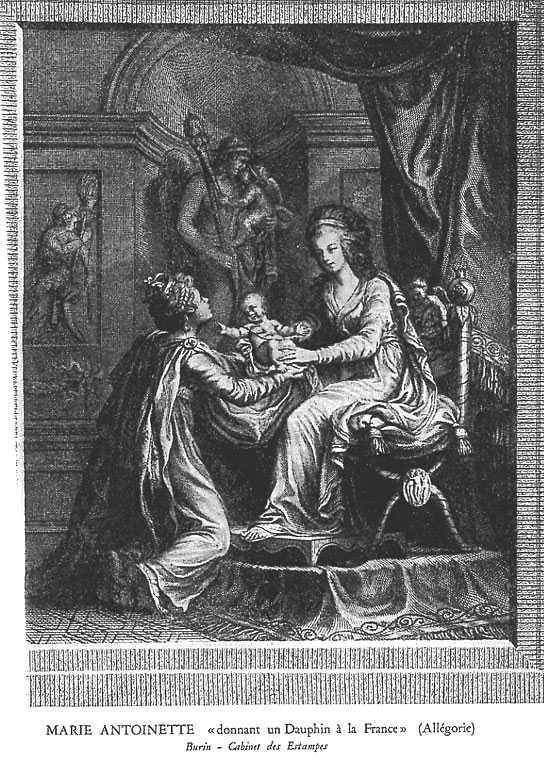Naissances illustrées des enfants de Marie-Antoinette  Mcr18j10