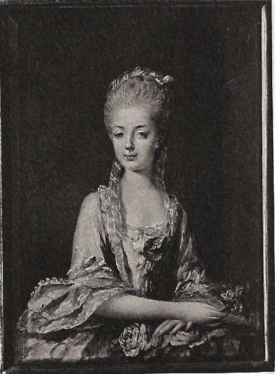 Portraits de Marie-Antoinette sur les boites et tabatières Miniat10