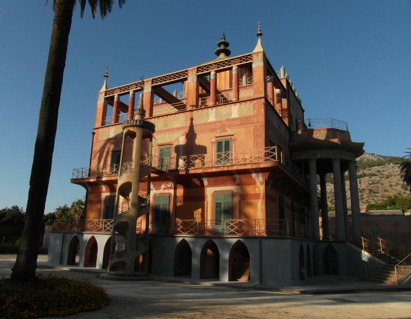 Le Palais chinois de Marie-Caroline à Palerme Pac71010