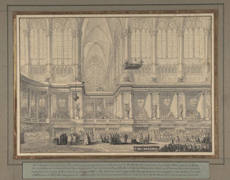 Le couronnement et le sacre de Louis XVI Par_be11