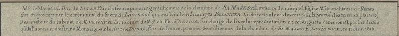 Le couronnement et le sacre de Louis XVI Par_be12