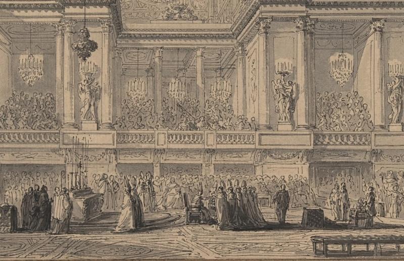 Le couronnement et le sacre de Louis XVI Par_be14