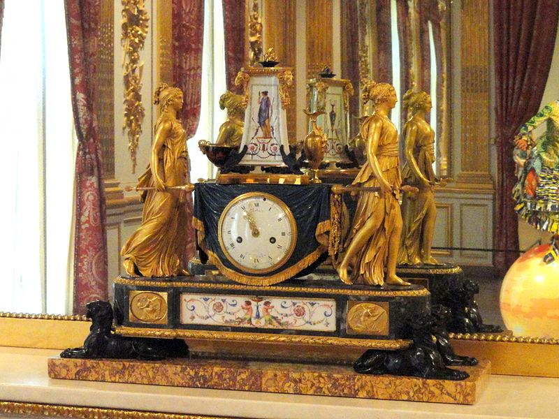 Pendules et horloges de Marie-Antoinette Pendul11